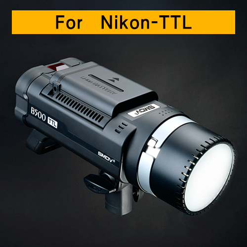 B500 TTL / AC-DC Dual-Purpose For Nikon / Battery TypeSMDV