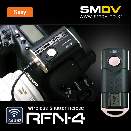 [Sony] RFN4 : RF-913 Wireless Shutter ReleaseSMDV