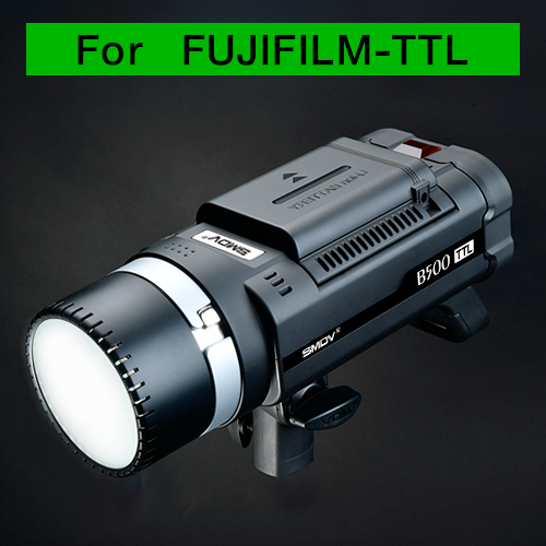 B500 TTL / AC-DC Dual-Purpose For Fujifilm/ Battery TypeSMDV