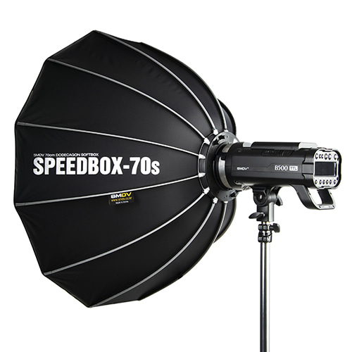 SPEEDBOX-70s / Size : 68 x 70 cm SPEEDLITE SOFTBOX / Bowens TypeNot for High Heat UsageSMDV