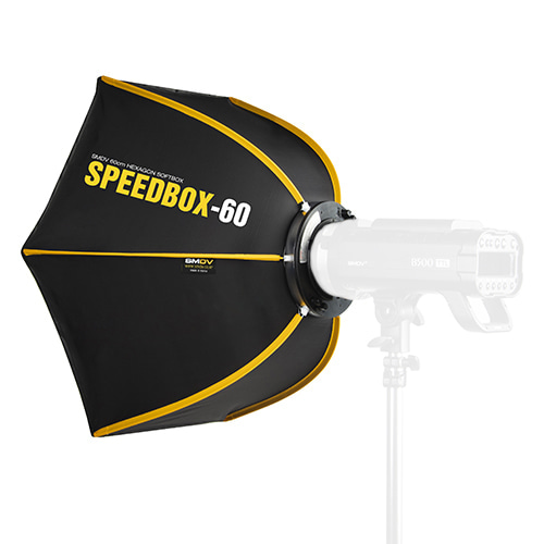 SPEEDBOX-60 / Size : 60 x 52 cm SPEEDLITE SOFTBOX / Bowens TypeNot for High Heat UsageSMDV
